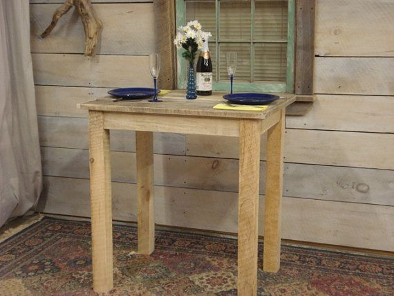 Farmhouse Counter Height Table 35 x 24 x 36H by DriftwoodTreasures