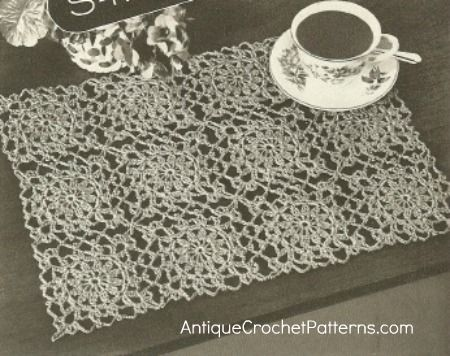Free Crochet Thread Patterns Easy Crochet Pattern For Decorating