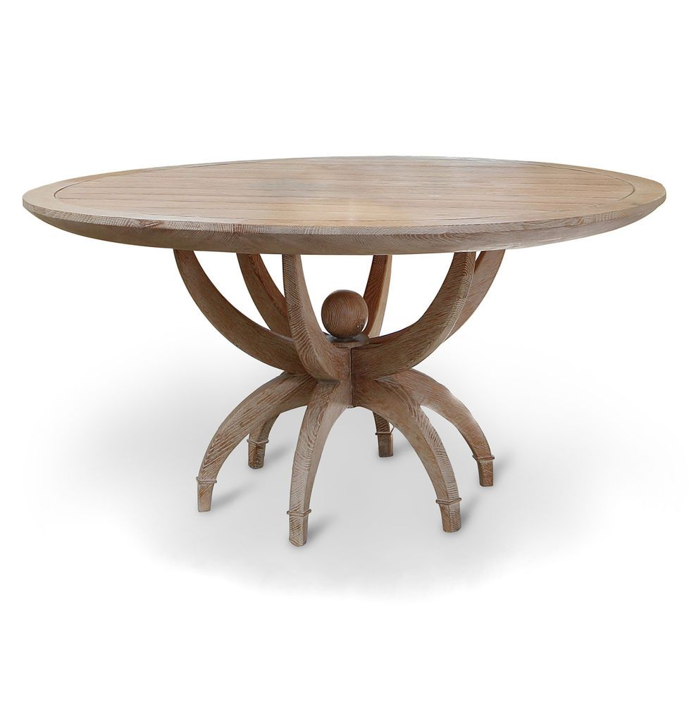 Contemporary Round Dining Table Atticus Limed Oak Contemporary Round Dining Table Round Dining