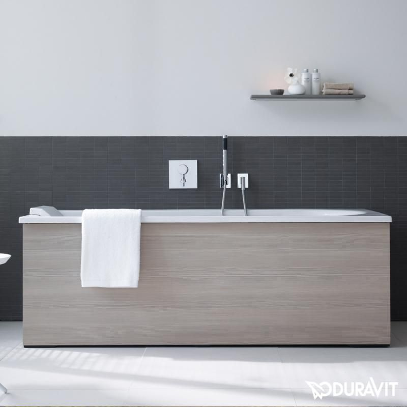 duravit darling new die rechteck badewanne ist eine einbauversion und kann durch eine. Black Bedroom Furniture Sets. Home Design Ideas