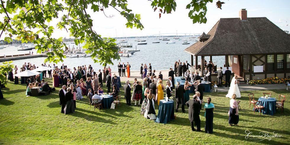 A New York Yacht Club Wedding In Newport