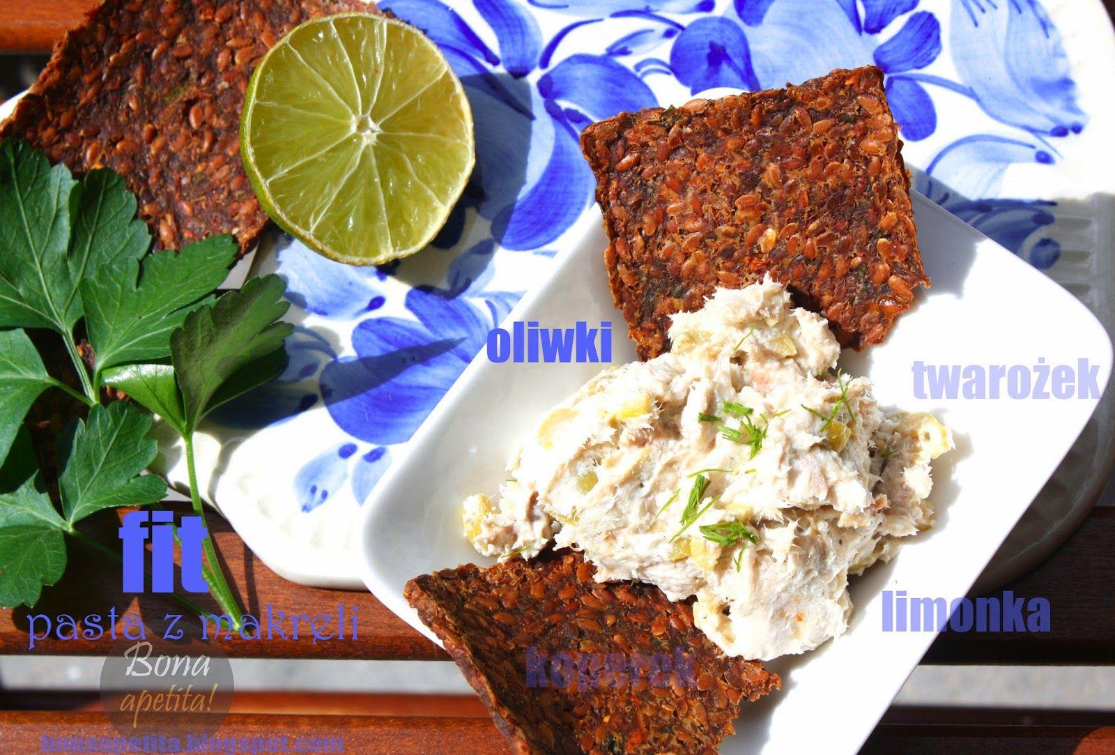 Bona Apetita! blog kulinarny, wnętrza, żyj ze smakiem!: Fit pasta z makreli z cyklu FIT BONIA
