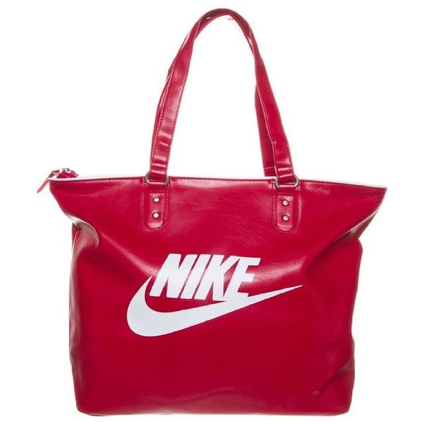 001f064947ff Women s Heritage Tote Tote Bag Red Nike Sportswear ❤ liked on Polyvore  featuring bags
