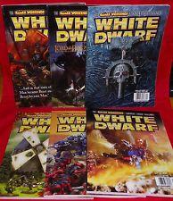 White Dwarf No. 294 No. 295 No. 296 No. 297 No. 298 No. 299 Games Workshop Hobby