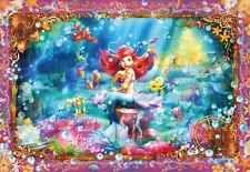 Tenyo Japan Jigsaw Puzzle D-1000-419 Disney Little Mermaid Aliel (1000 Pieces)