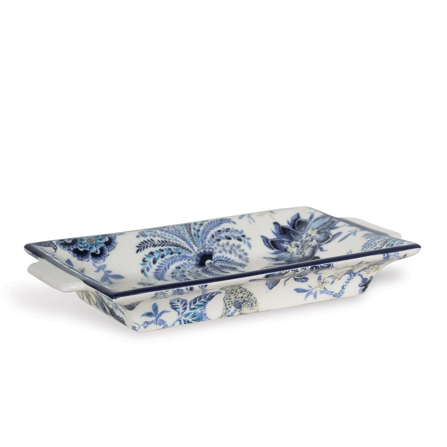 Decorative Tray New Williamsburg Collection Blue And White Decorative Tray Inspiration