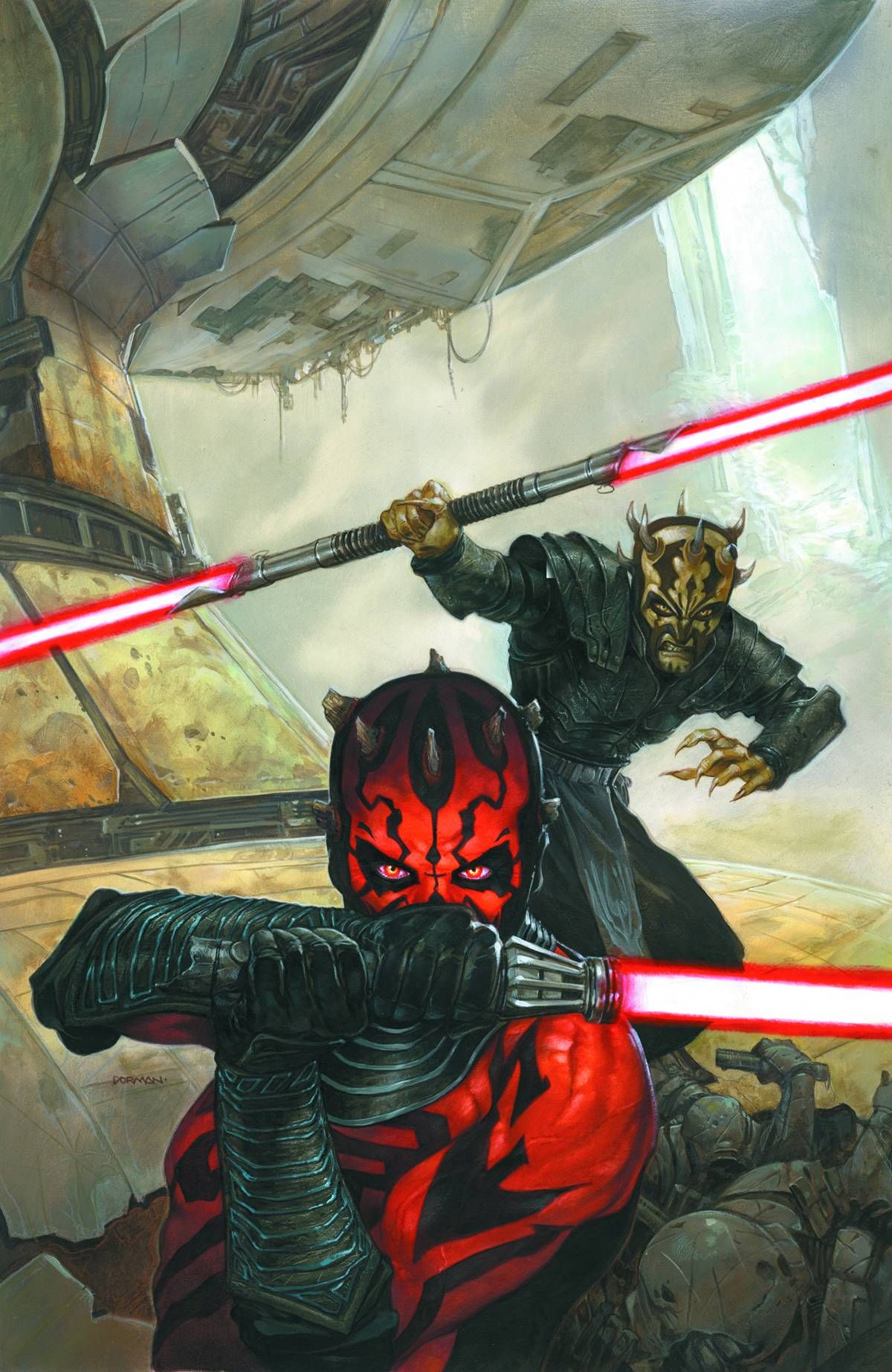 Darth Maul & Savage Opress