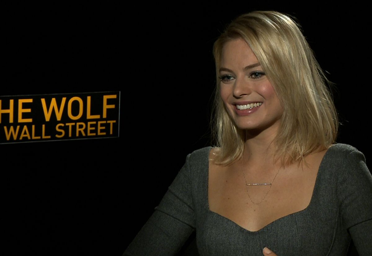 Margot Robbie discusses Brooklyn accents and the power of sex in Wolf Of Wall Street