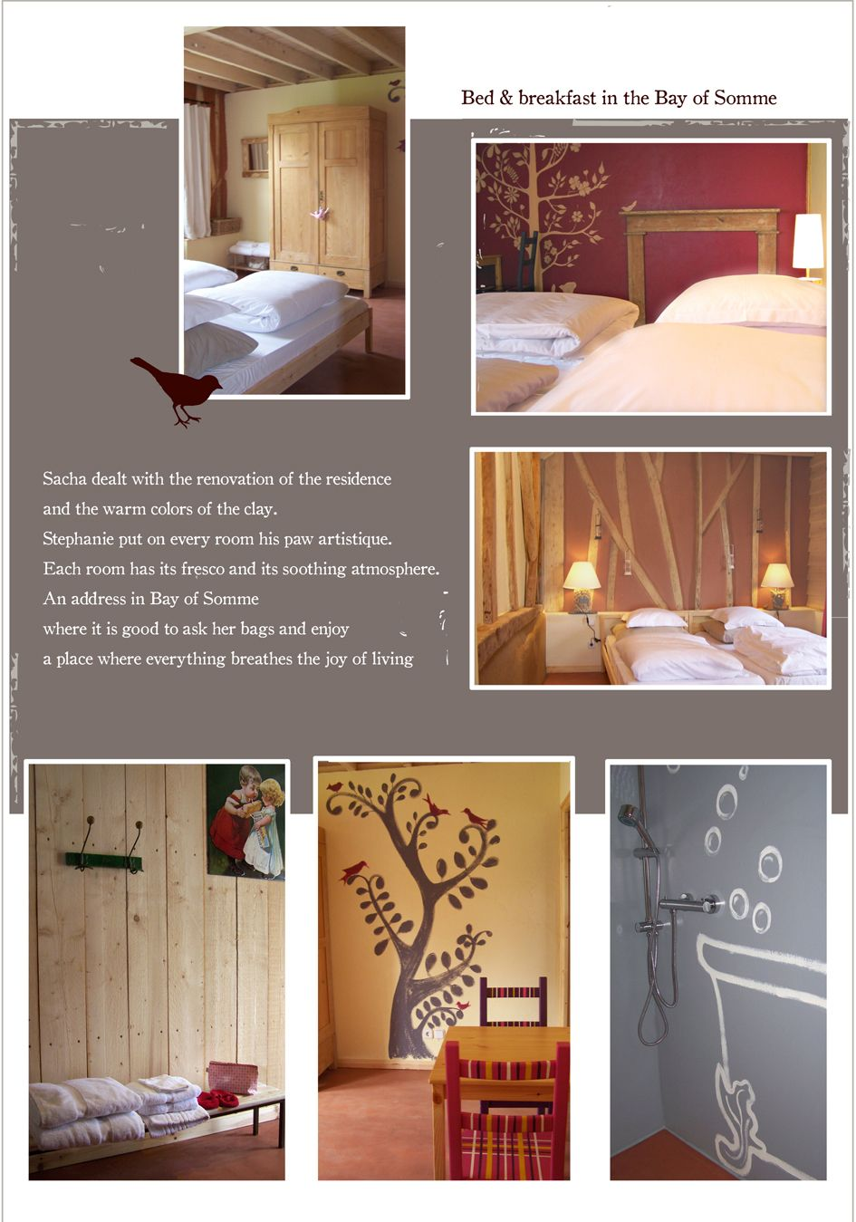 Chambre D Hotes En Baie De Somme Warm Colors Bed And Breakfast Home Decor