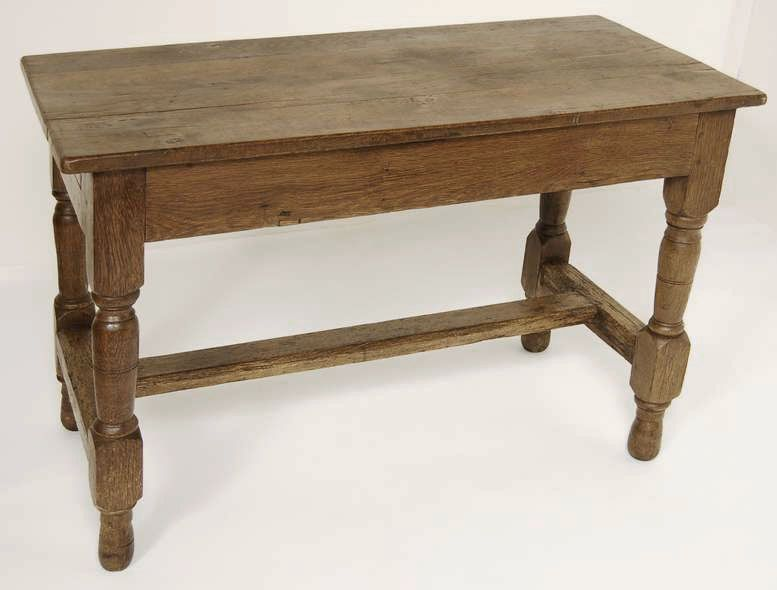 Antique French Farm Table | Antique End Tables | Inessa Stewartu0027s Antiques