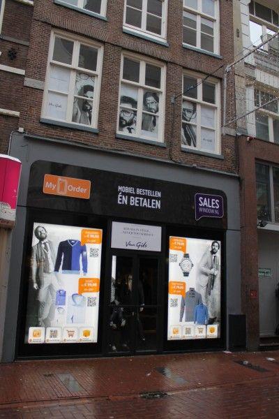Van Gils opent pop-up store met QR-codes