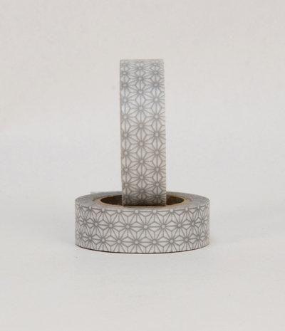 Nation State — MT Japanese Masking Tape - Silver Star