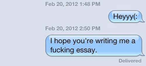 This person with valid expectations. | 17 Perfect Responses For When Someone Doesn't Text Back