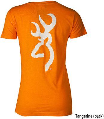 Orange Browning Graphic Tee