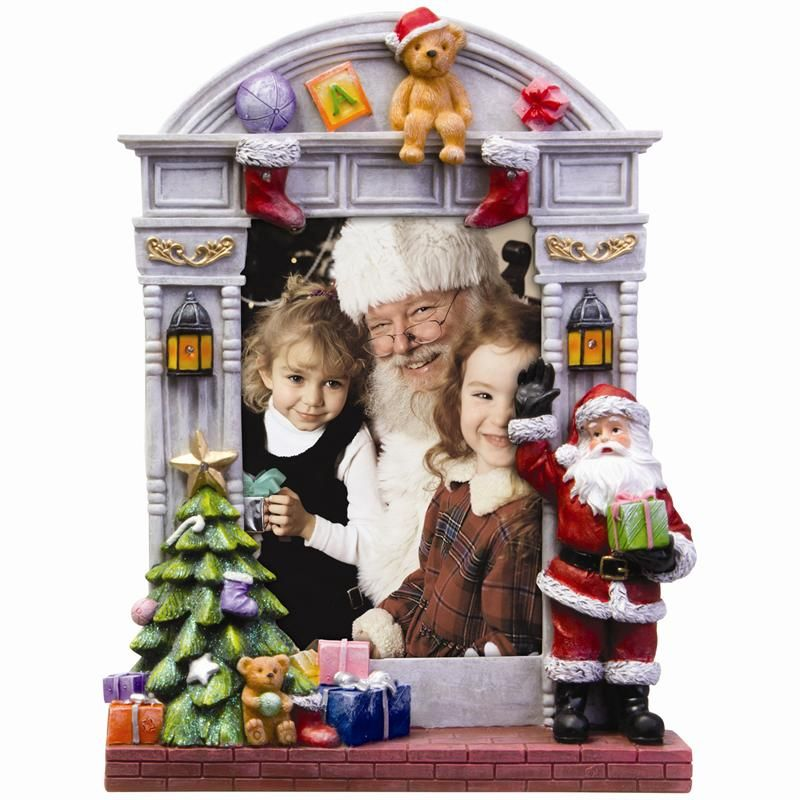 Christmas Picture Frames 5x7 Christmas Lighted Resin Picture Frame