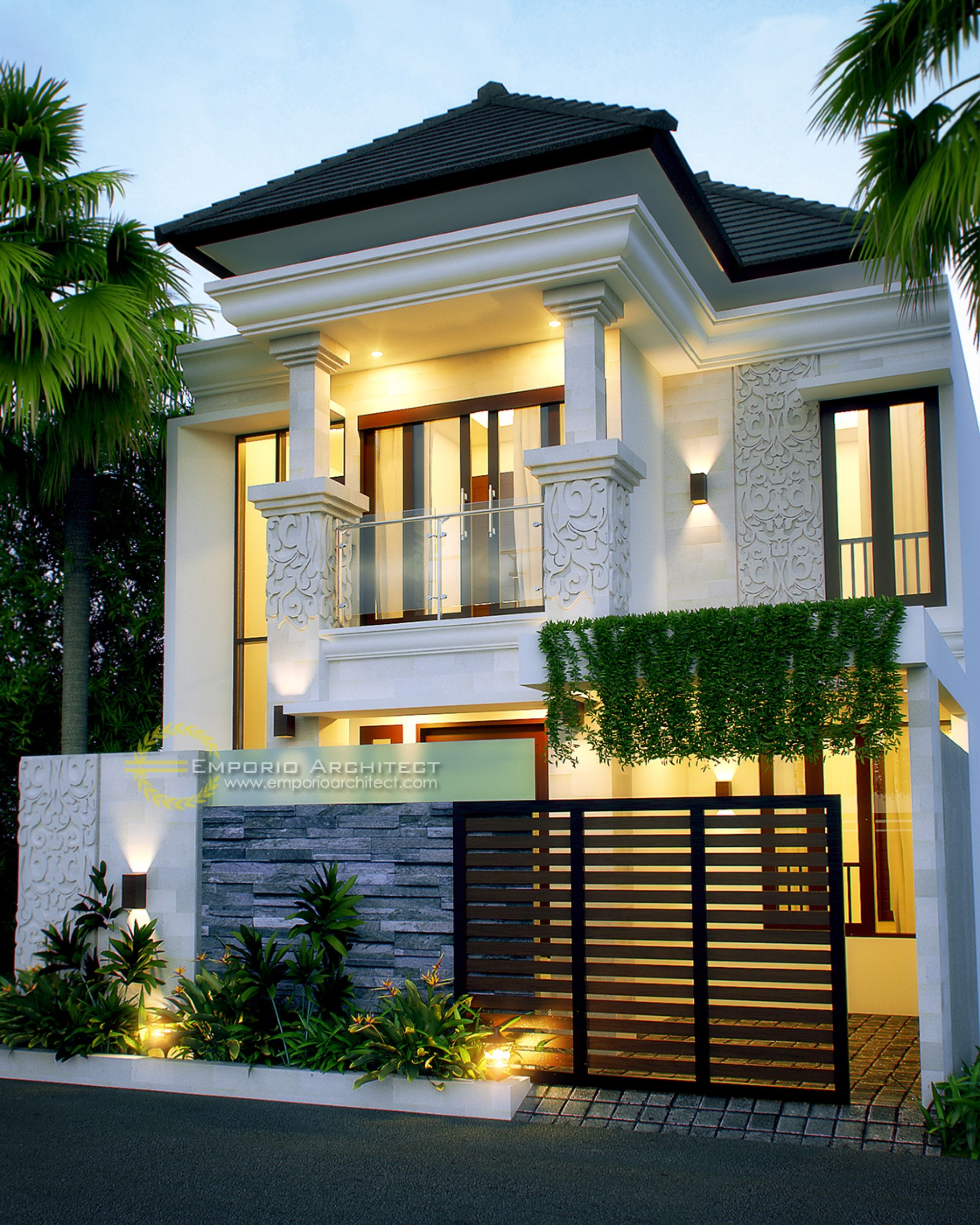 49 Most Popular Modern Dream House Exterior Design Ideas 3 In 2020: Jasa Arsitek Desain Rumah Bapak Indro (Dengan Gambar)