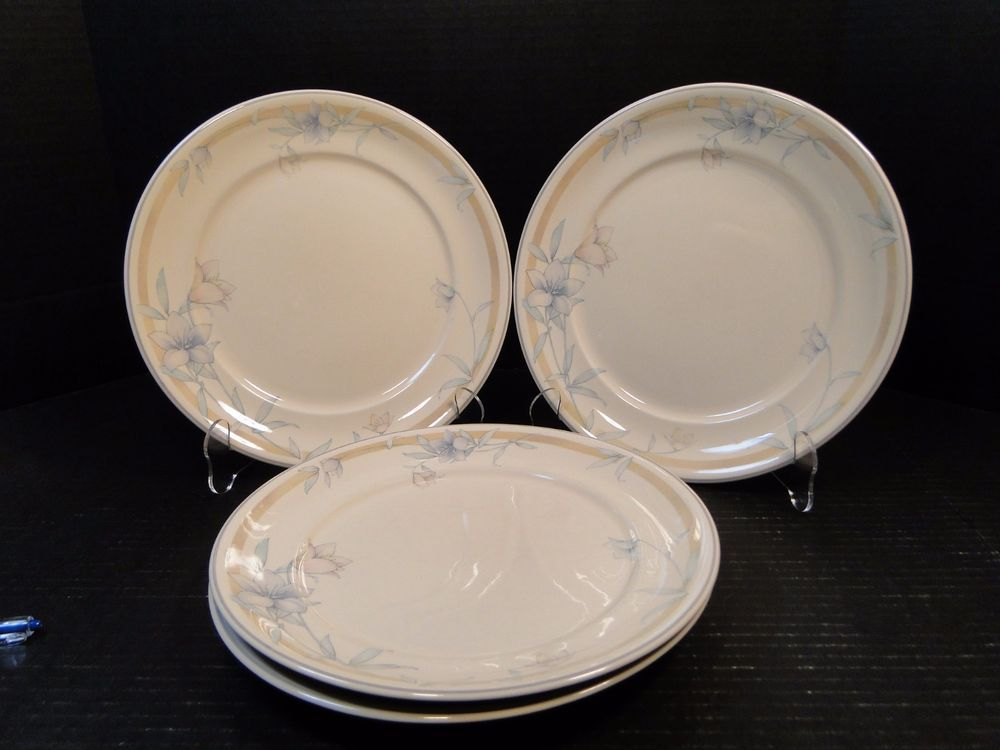 Details about FOUR Noritake Keltcraft IRELAND Kerry Spring Dinner Plates 10 1/4  9133 NICE & Details about FOUR Noritake Keltcraft IRELAND Kerry Spring Dinner ...