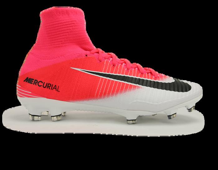 Nike Men S Mercurial Superfly V Fg Racer Pink Black White Nike Men Soccer Shoes Nike Soccer Shoes