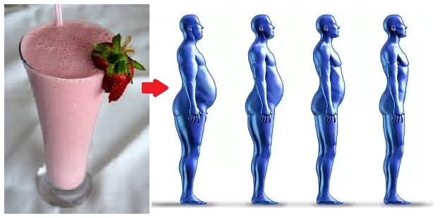 Batido de avena y fresas para bajar de peso