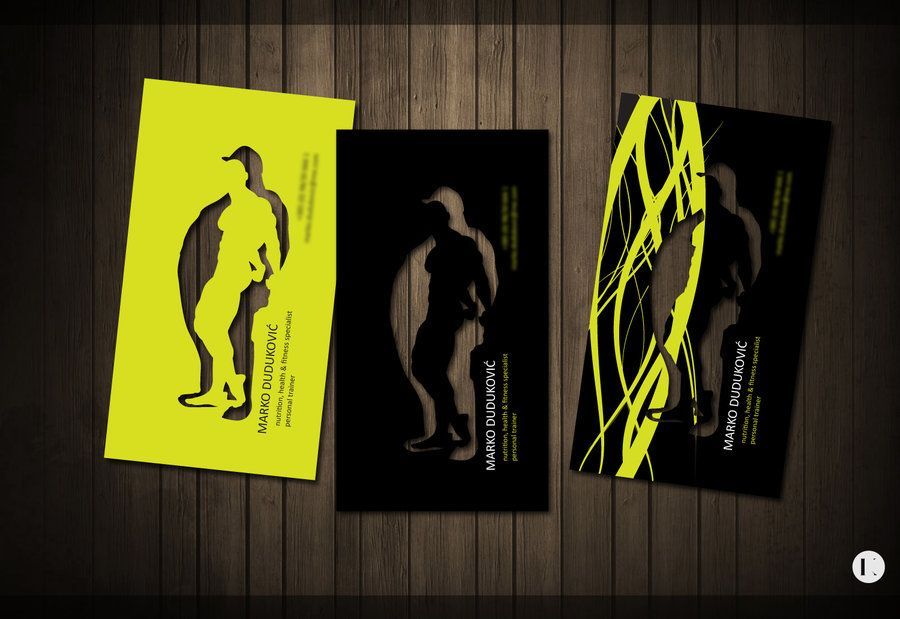 Personal trainer business card by ~CatcherOfSouls on deviantART ...