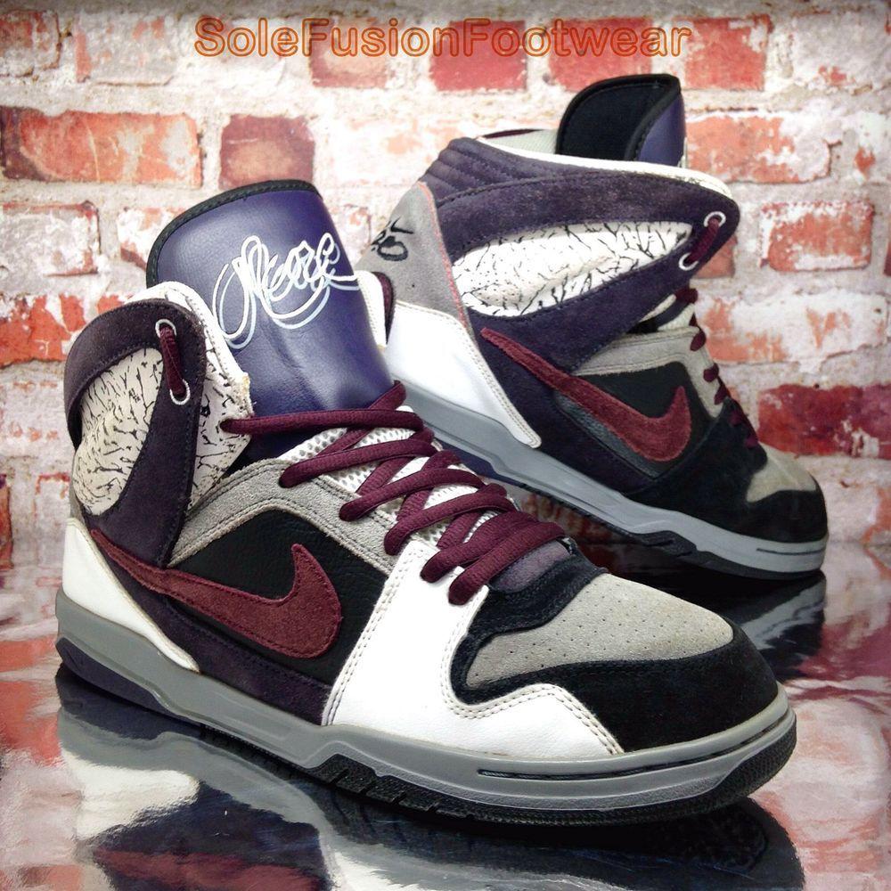 Nike mens ZOOM ONCORE High Trainers Grey/Black size 11 Skate Bike Sneakers EU  46
