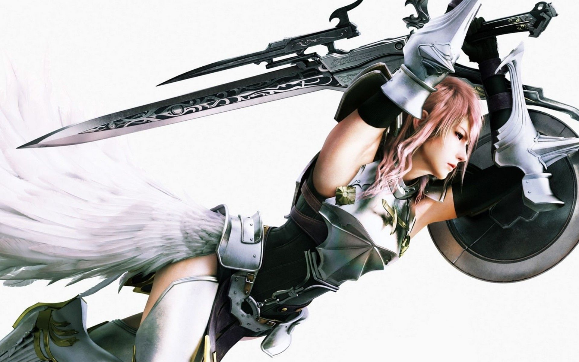 Sword Video Games Claire Farron Final Fantasy Xiii Shield Wallpaper Lightning Final Fantasy Final Fantasy Final Fantasy Cloud