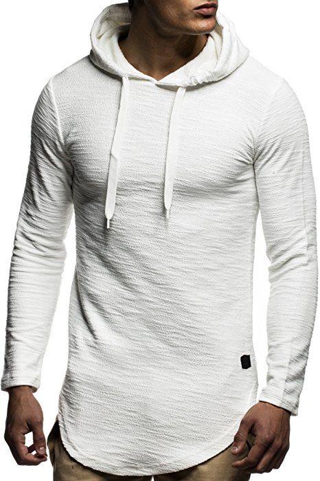 Herren Kapuzen Hoody Langarm Pullover Baumwolle Hoodie Fashion Sweatshirt