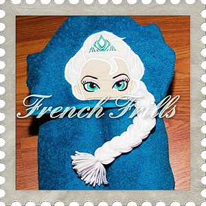 french frills embroidery design