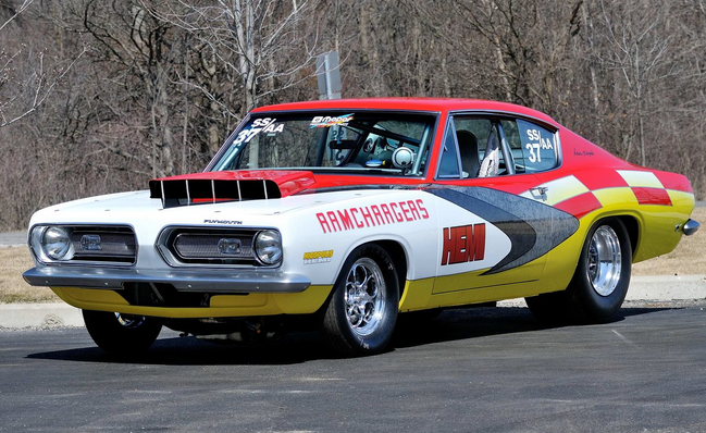 1968 Plymouth Barracuda SS/AA