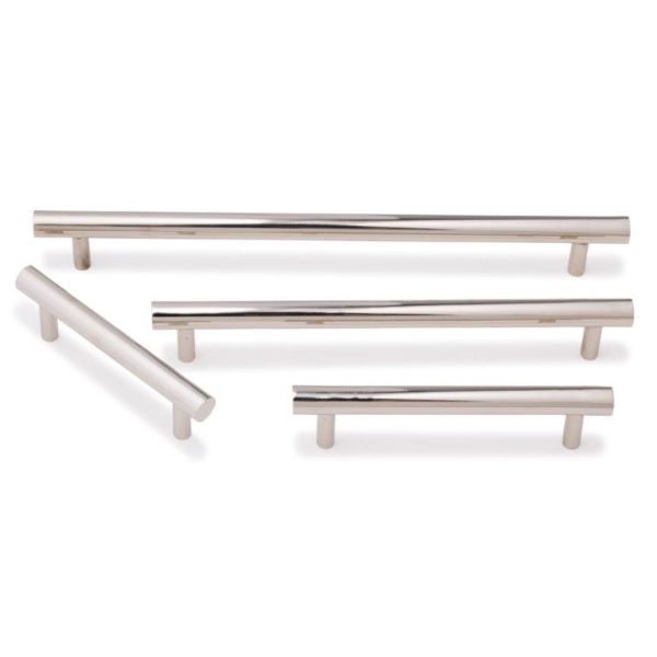 Bar Pull For Kitchen Joinery Polished Nickel Polished Nickel
