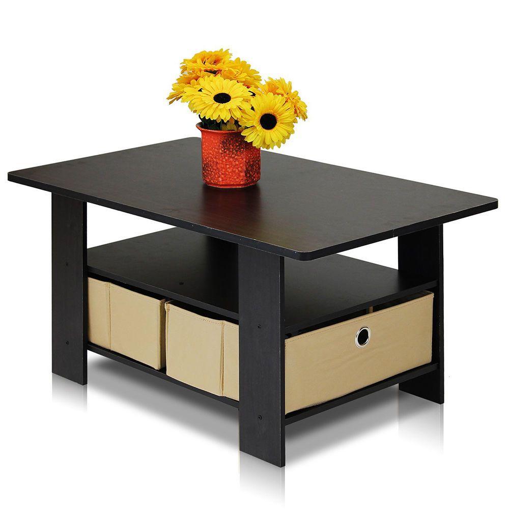 Park Art My WordPress Blog_Furinno Coffee Table With Bins Espressobrown
