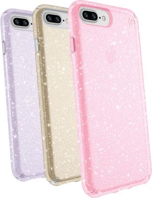 Speck Presidio Clear + Glitter Case Giftset for iPhone 8 Plus 7 Plus 6s Plus  6 Plus 9492f0aa2501
