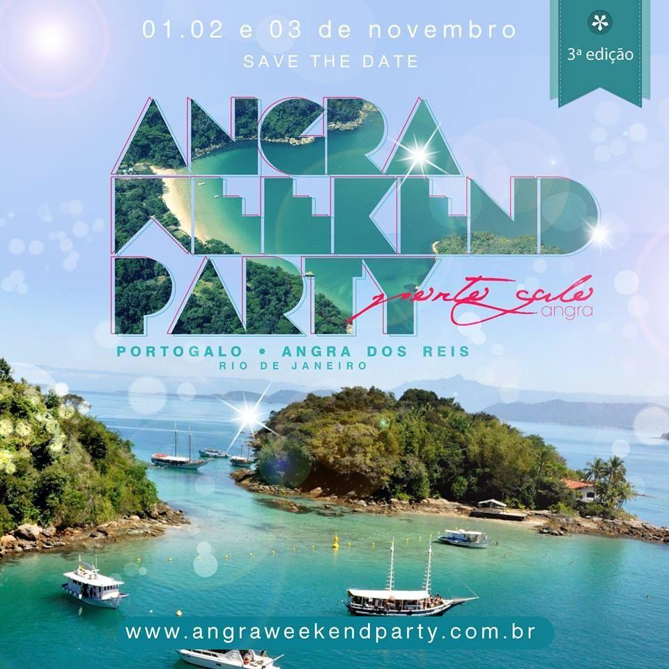 Flyer post angra weekend party  Criação:  www.mwcreator.com.br  Comunicação e design