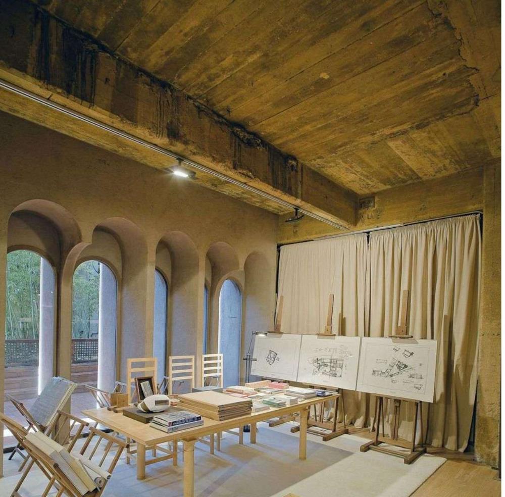 Ricardo Bofill And La Fàbrica: Studio In A Former Cement
