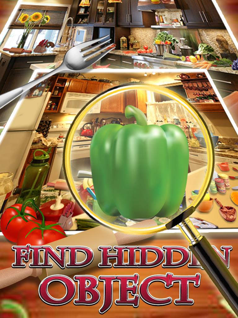 Hidden Objects Messy Kitchen + Admob,Chartboost,Applovin