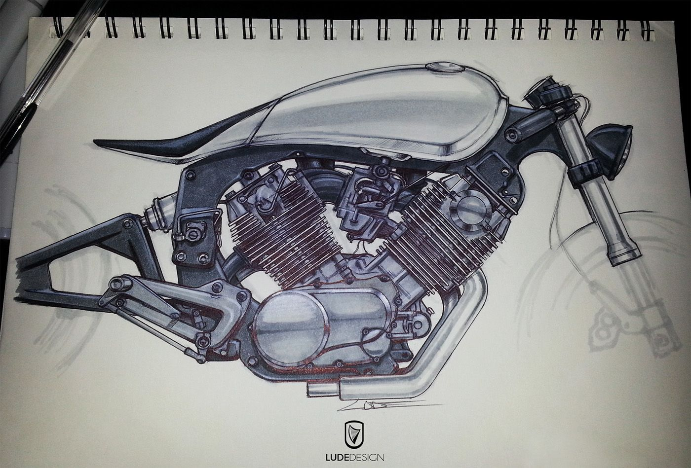 Cafe Racers on Behance