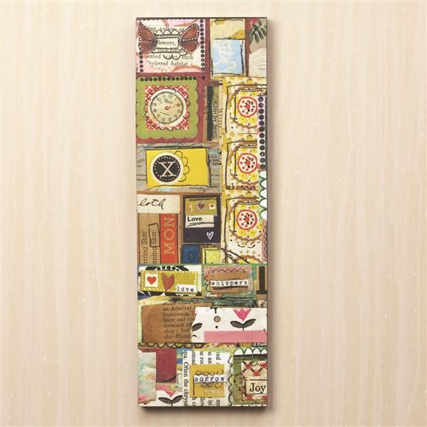 The Kelly Rae Roberts Collection Joy Patchwork Wall Art - NuMercy.com