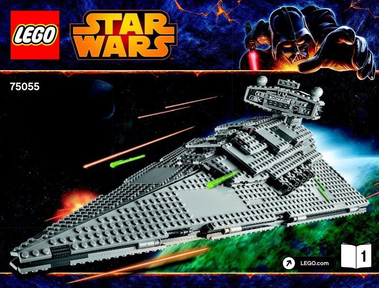 Star Wars Episode 4-6 - Imperial Star Destroyer [Lego 75055] | Lego ...