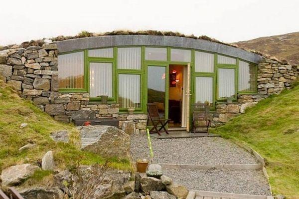 Switzerland Tiny Homes Underground Home In South Uist Scotland