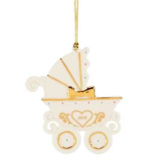 Check out the Lenox 846965 Babys 1st Christmas Carriage Ornament priced at $19.95 at Homeclick.com.