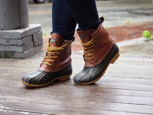 19684b1d9c390 Lands' End Duck Boots via WithKrishilda | #MyLandsEnd | Cheap ...