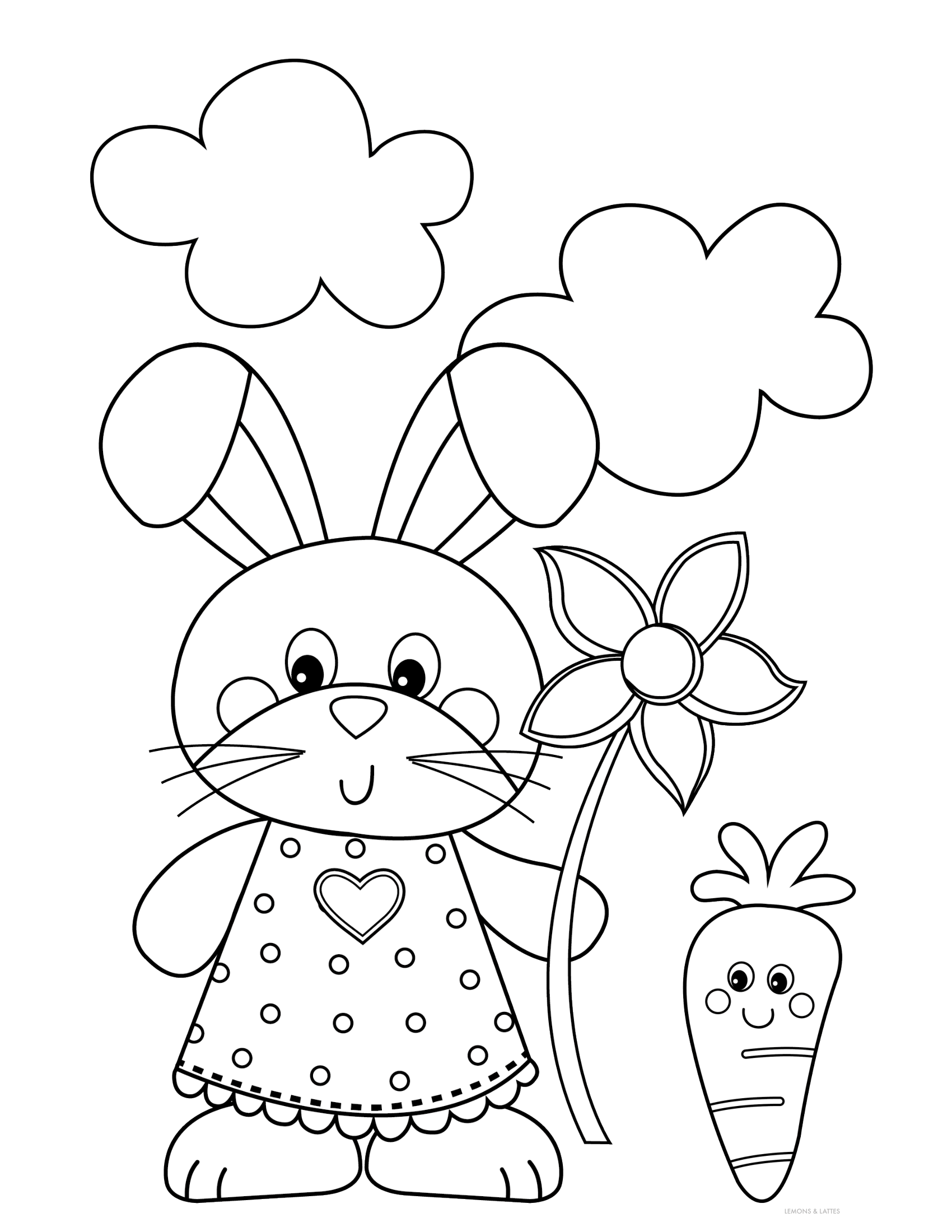 Free Printable Easter Coloring Pages Bunny Coloring Pages Free Easter Coloring Pages Easter Coloring Book
