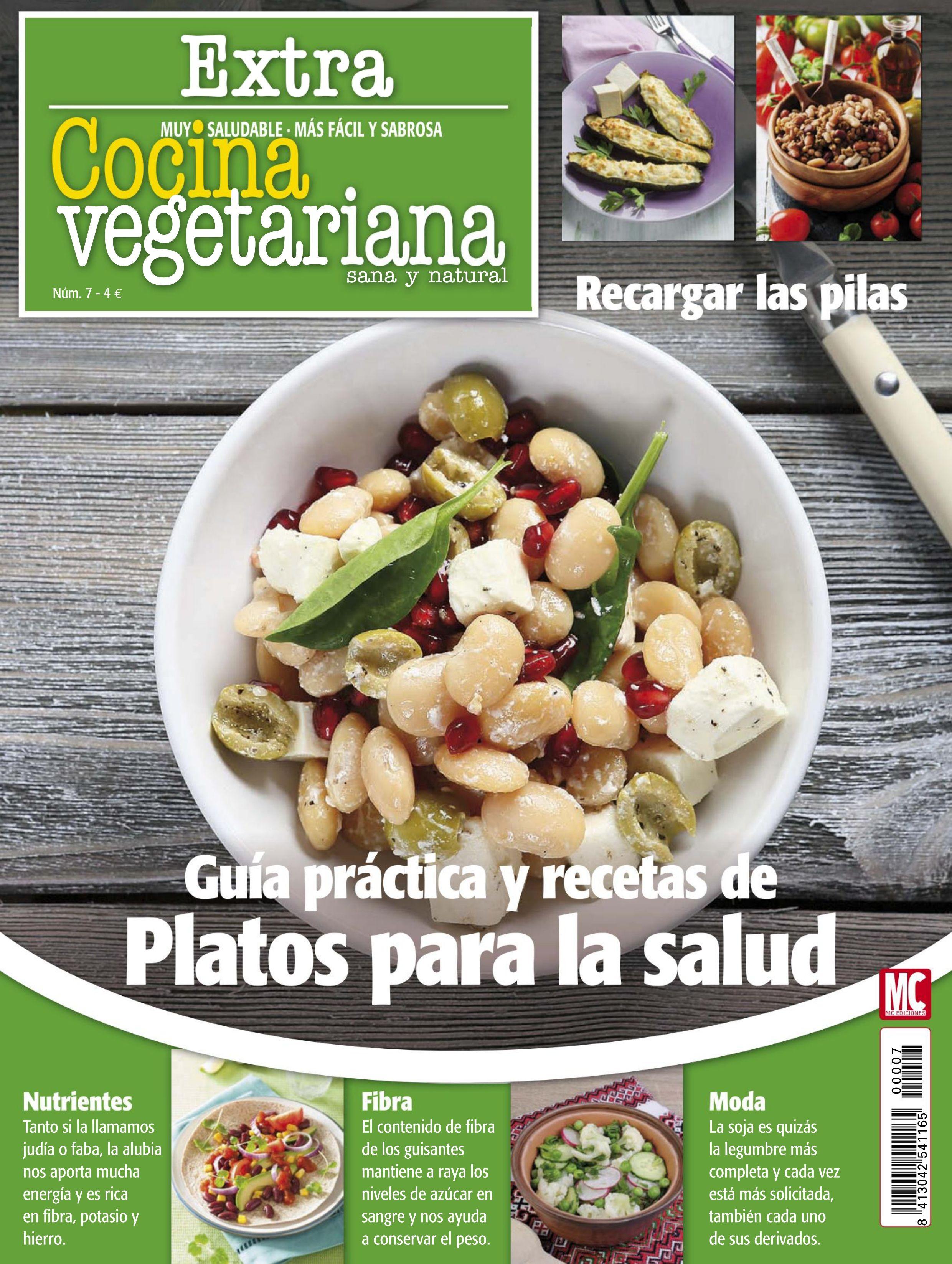 Revista cocina vegetariana extra 7 gu a pr ctica y for Cocina vegetariana