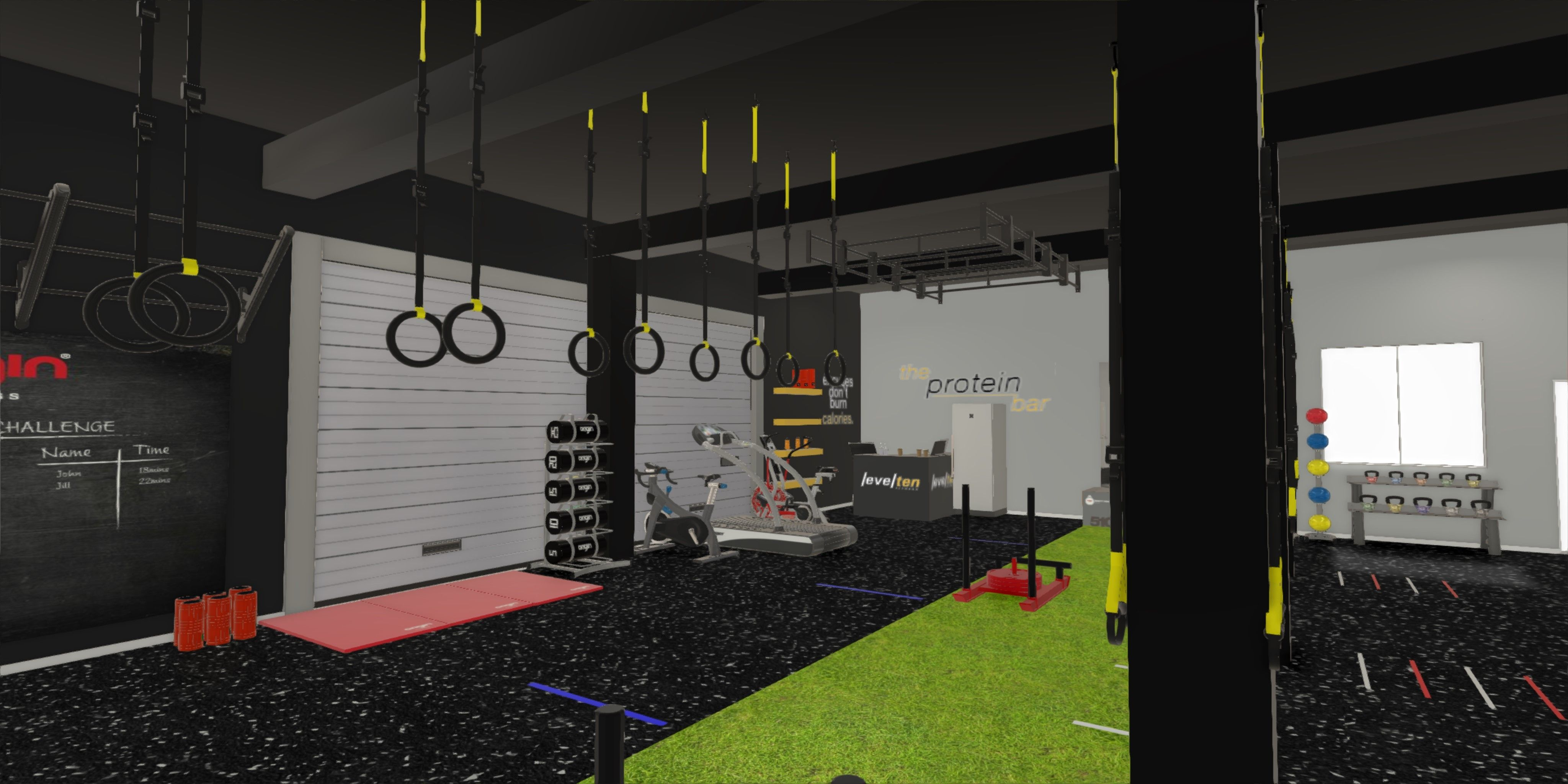 Gym Design And Planning