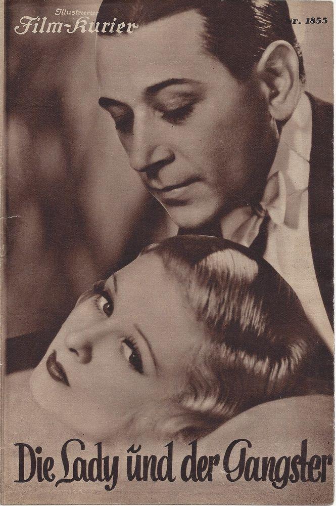 IFK: Nr: 1855: Die Lady und der Gangster Joan Bennelt, George Raft, Billie Burke in Filme & DVDs, Film-Fanartikel, Filmprogrammhefte | eBay