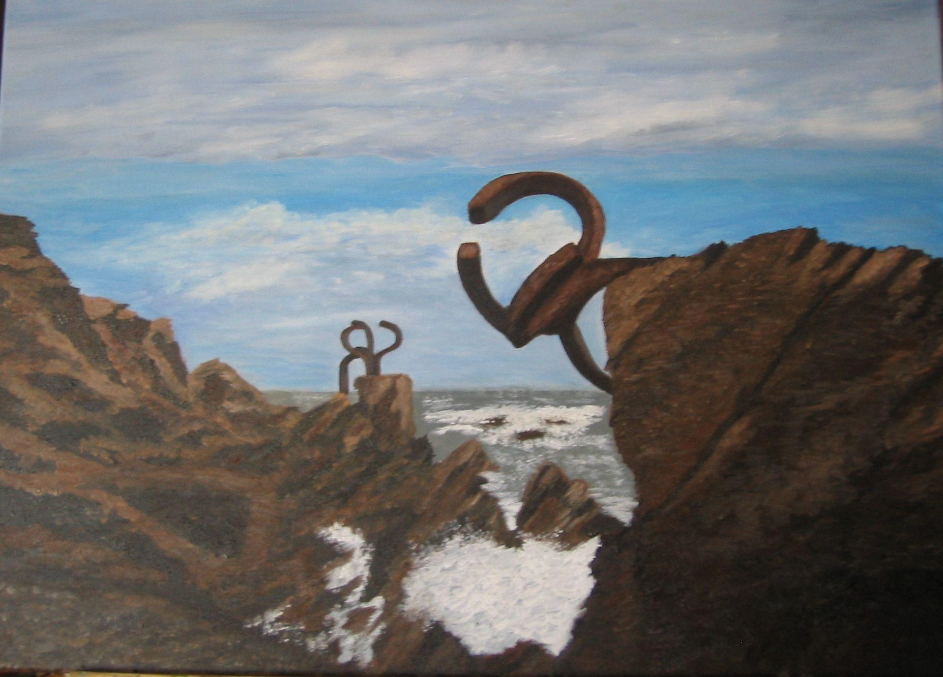 peine del viento oleo sobre lienzo lo puedo vender