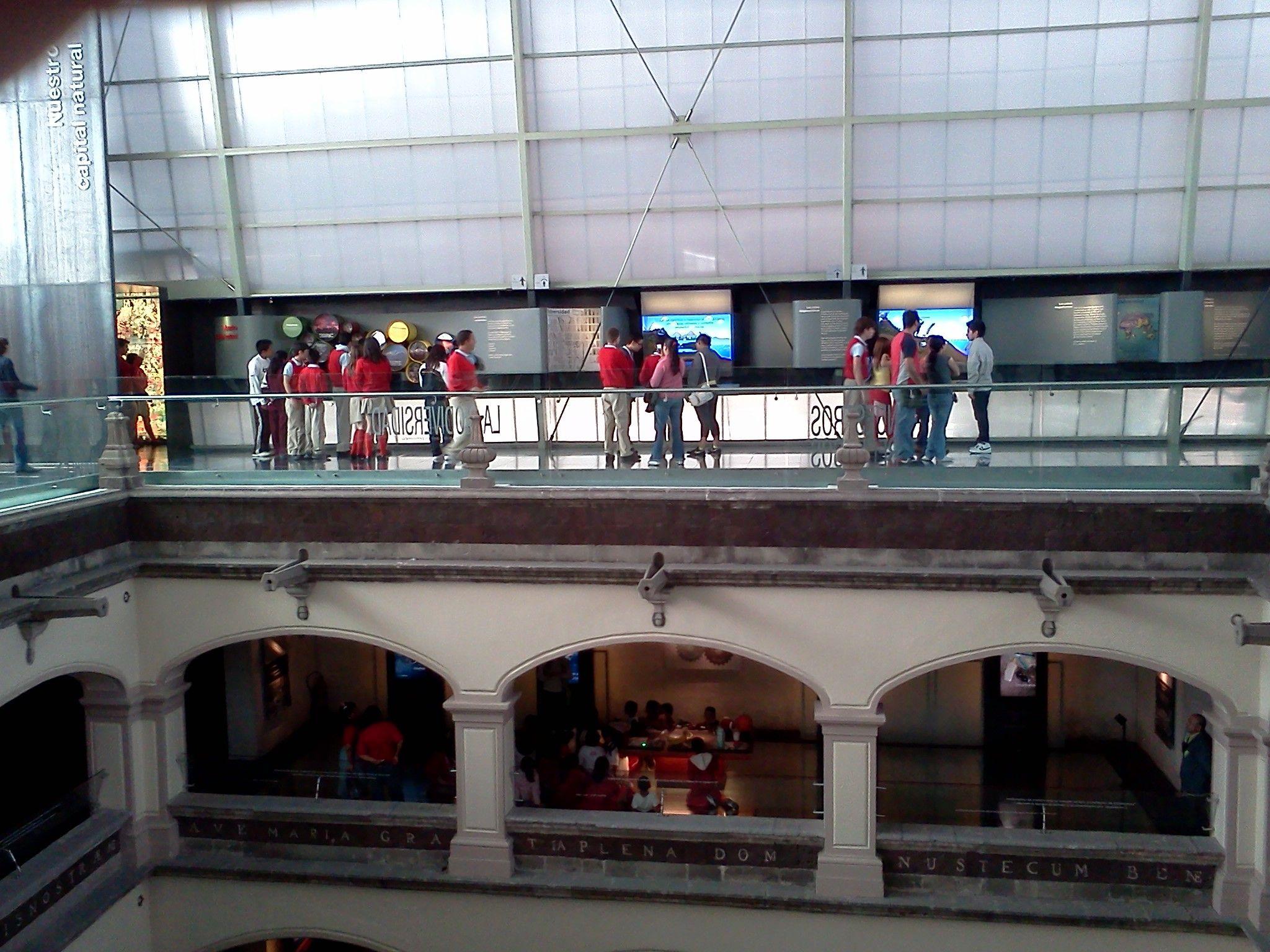 Visita cultural al MIDE: Museo Interactivo de Economía.