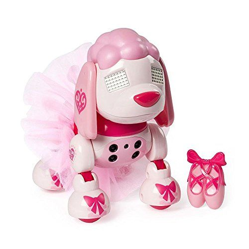 Zoomer Zuppies Prima The Ballet Poodle Pup Pup Interactive Toys