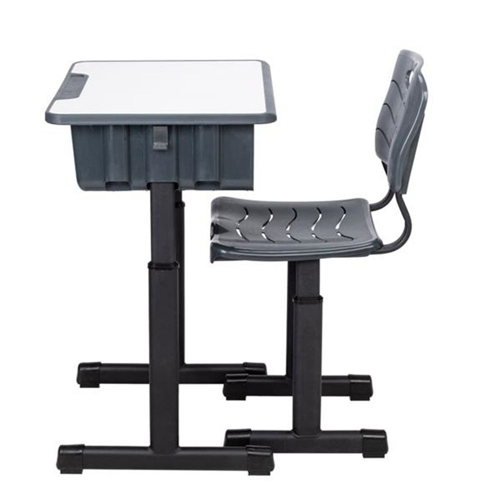 Height Adjustable Students Children Desk and Chairs Set ...