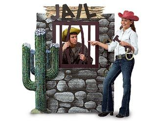 an idea for a fundraiser lock up gregg or saebra andor have families western party themeswestern - Western Party Decorations